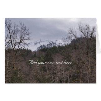 Mount Pilchuck Card