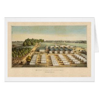 Mount Pleasant Hospitals in Washington, DC 1862 Greeting Card