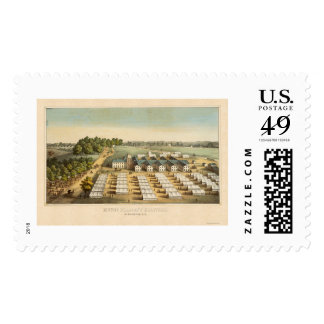 Mount Pleasant Hospitals in Washington, DC 1862 Postage Stamps