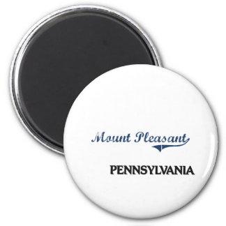 Mount Pleasant Pennsylvania City Classic Magnets