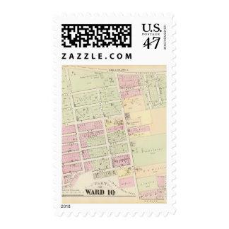 Mount Pleasant Plat Atlas Map Postage