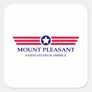 Mount Pleasant Pride Square Sticker