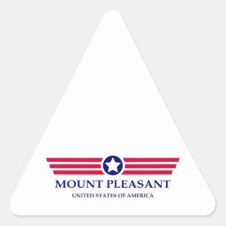 Mount Pleasant Pride Triangle Sticker