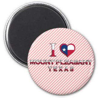 Mount Pleasant Texas Fridge Magnets