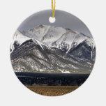 Mount Princeton Christmas Ornaments