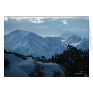 Mount Princeton Colorado Card