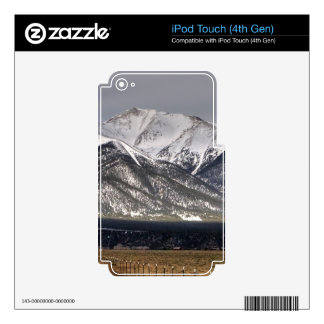 Mount Princeton iPod Touch 4G Decals