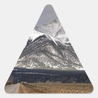 Mount Princeton Triangle Sticker