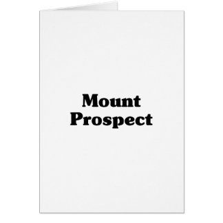 Mount Prospect Classic t shirts Greeting Card