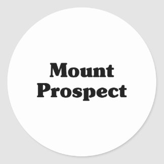 Mount Prospect Classic t shirts Classic Round Sticker
