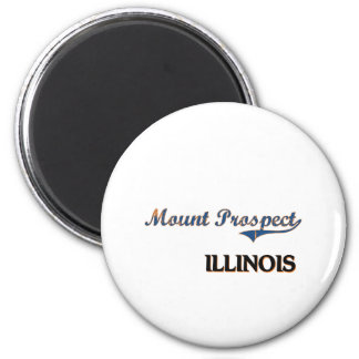 Mount Prospect Illinois City Classic 2 Inch Round Magnet