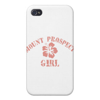 Mount Prospect Pink Girl iPhone 4 Cover