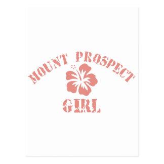 Mount Prospect Pink Girl Postcard