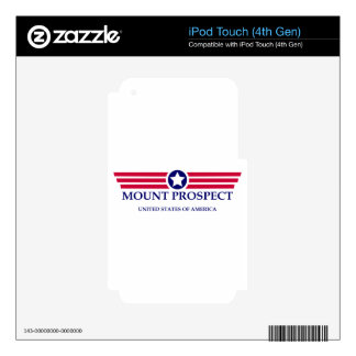 Mount Prospect Pride Skin For iPod Touch 4G