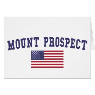 Mount Prospect US Flag Card