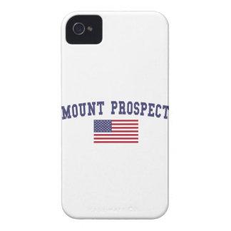 Mount Prospect US Flag Case-Mate iPhone 4 Case