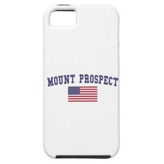 Mount Prospect US Flag iPhone SE/5/5s Case