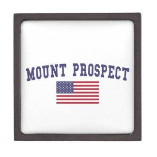 Mount Prospect US Flag Keepsake Box