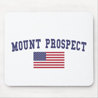 Mount Prospect US Flag Mouse Pad