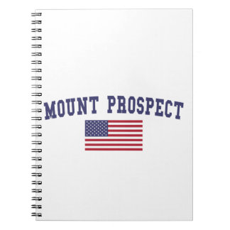 Mount Prospect US Flag Notebook
