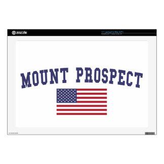 Mount Prospect US Flag Skin For Laptop