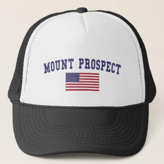 Mount Prospect US Flag Trucker Hat
