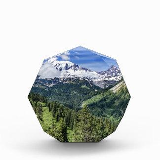 Mount Rainer Acrylic Award