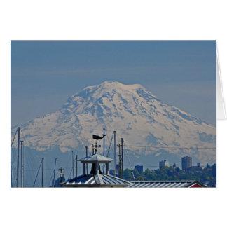 Mount Rainer Card