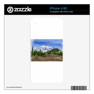 Mount Rainer Skin For The iPhone 4