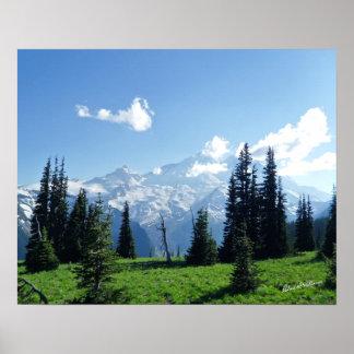 Mount Rainier #0403 Poster