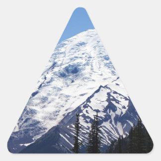 Mount Rainier 2 Triangle Sticker