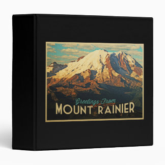 Mount Rainier 3 Ring Binder