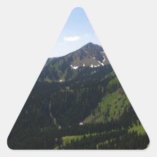Mount Rainier 3 Triangle Sticker