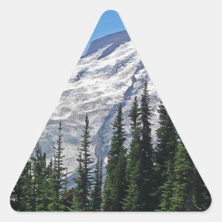 Mount Rainier 4 Triangle Sticker