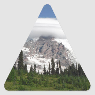 Mount Rainier 5 Triangle Sticker