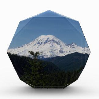 Mount Rainier Acrylic Award