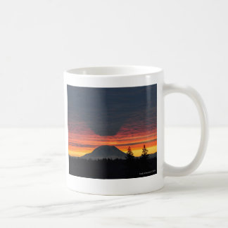Mount Rainier and it's Shadow Coffee Mug