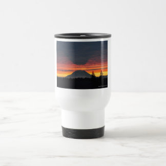 Mount Rainier and its Shadow Travel Mug