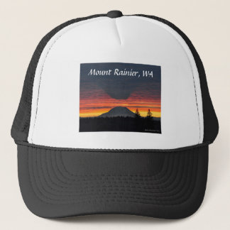 Mount Rainier and its Shadow Trucker Hat