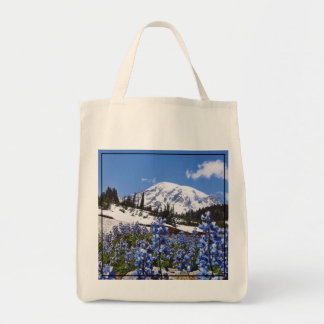 Mount Rainier at Paradise Point Tote Bag