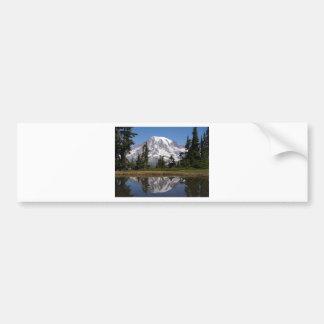 Mount Rainier Bumper Sticker