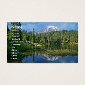 Mount Rainier business card
