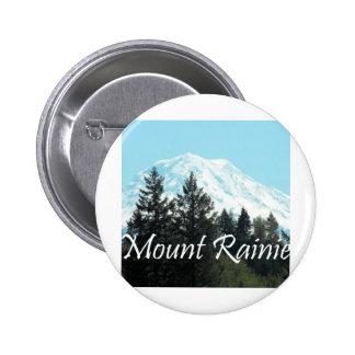 Mount Rainier Pinback Buttons