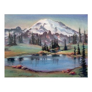 MOUNT RAINIER by SHARON SHARPE Post Cards