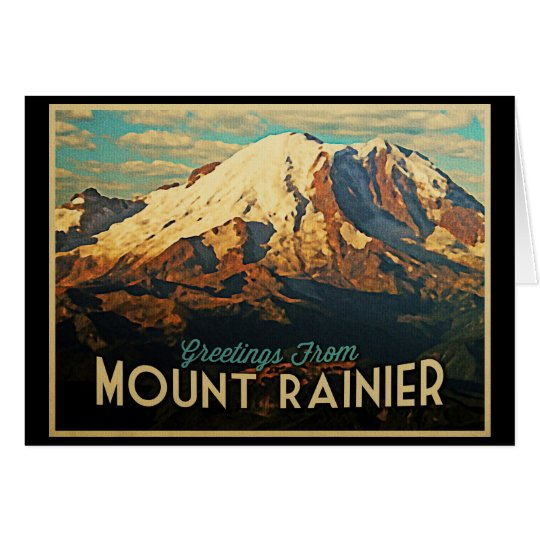 Mount Rainier Card