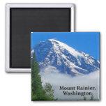 Mount Rainier from Kautz Creek Refrigerator Magnet