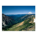 Mount Rainier from the Goat Rocks Wilderness, Wash Post Cards