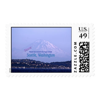 Mount Rainier from the Puget Sound Stamp
