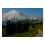 Mount Rainier from the Sourdough Ridge Trail Card