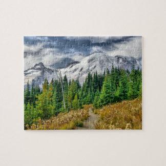 Mount Rainier HDR jigsaw puzzle